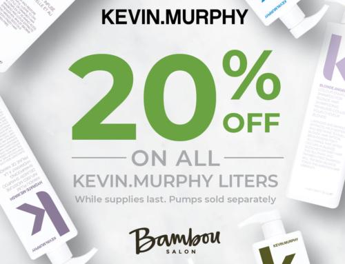 KEVIN.MURPHY Liter Sale – 20% Off